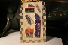 NASCAR Racing Champions Superstars Stickers-Sterling Marlin #22 Maxwell House