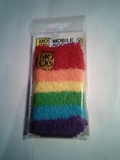 MOCKS Sock for mobile phone MP3 iPhone, digital camera Rainbow Fluffy