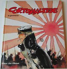 Hugo Pratt CORTO MALTESE: LA GIOVINEZZA Milano Libri 1a Edizione 1985 COME NUOVO