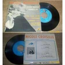 Nicole Croisille – Chante Pierre Barouh et Francis Lai French EP Pop OST 68'