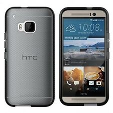 Genuine Tech 21 EVO controllo Scudo Impatto Guscio Case Cover per HTC One m9-Nero