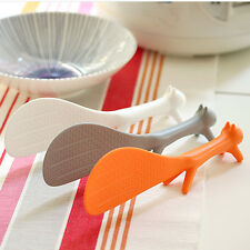 New 1pc Kitchen Squirrel Shape Rice Paddle Scoop Spoon Ladle Novelty Home Use