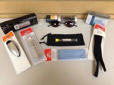 2 Private Eyes Comfort Flex Reading Glasses & Accessories Pack 130 +2.00  New