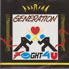 "7"" Generation Fight For You (Radio Mix & Dance Hall Mix) 80`s Polydor"