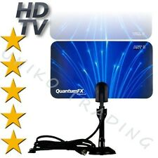 PREMIUM HDTV Indoor Flat Antenna VHF/UHF Digital TV BRAND NEW