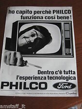 *52=PHILCO FORD TV TELEVISORE=1971=PUBBLICITA'=ADVERTISING=WERBUNG=PUBLICITE=