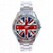 NEW MENS WATCH ENGLISH FLAG UNION JACK