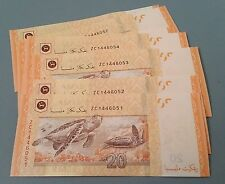 Replacement Note Malaysia UNC ZC RM 20 Zeti EACH piece - running no. available