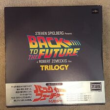 BACK to the FUTURE TRILOGY Collector's set 4LD Japan Laserdisc RARE MINT