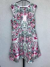 100 % TED BAKER FLORAL DRESS SIZE 4 ! BNWT!!! RRP 189