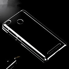 Ultra Thin Transparent Crystal Hard Plastic Case Cover Skin For Xiaomi Redmi 3S