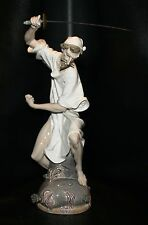 "BEAUTIFUL Lladro 1343 ""WRATH OF DON QUIXOTE""  - Retired 1990"