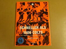 DVD / SCHNELLER ALS 1000 COLTS ( GEORGE MARTIN, GORDON MITCHELL, GUIDO ZURLI...)