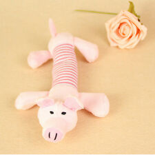 NEW Pets Dog Squeaky Squeaker Sound Plush Stuffed Play Toys Pig Elephant likable