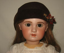 """Antique 30"""" Bebe Jumeau French Open Mouth Bisque Socket Head Doll *WOW*   MJ24"""