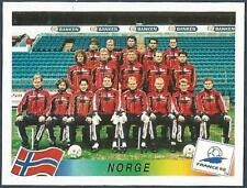PANINI WORLD CUP FRANCE 1998- #067-NORGE-NORWAY TEAM PHOTO