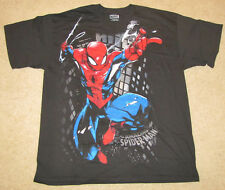 MEDIUM 38/40 MARVEL COMICS SPIDER MAN THE AMAZING SUPER HERO MENS T-SHIRT SUPER!