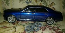 1:18 scale Bentley Mulsanne Speed dealer model. Lightly customized.