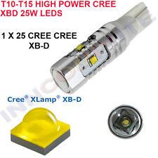 W5W W16W 501 T10 T15 Alta Potencia Cree R4 LED 25W