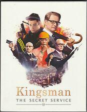 Kingsman Film Arena Blu Ray Steelbook- New & Sealed