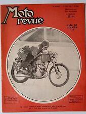 Moto Revue du 17/06/1950; Essai de L'origan 125