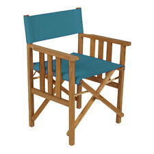Turquoise Director Chairs Replacement Water Resistant Canvas Covers Garden
