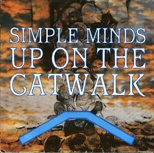 """SIMPLE MINDS up on the catwalk/brass band in africa VS 661 uk 1984 7"""" PS EX/EX"""