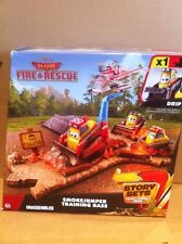 DISNEY PLANES Smokejumper Training Base With Drip -Story Sets - Combined Postage