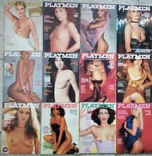 PLAYMEN lotto Lot Year annata1977 Irina Ionesco Bourboulon Hamilton Cicciolina
