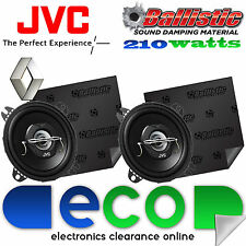 Renault Clio 1990-1998 JVC 10 cm 210 Watts 2 Way Car Speakers & Sound Deadening