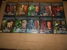 STARGATE SG-1 DVD's - JOB LOT OF 10 - BRAND NEW, SEALED. (Lot No. 2)