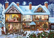 Puzzle 1000 Teile - Crisp: Der Weihnachtsmann kommt von Gibsons