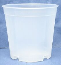 Clear Plastic Pot for Orchids 5 1/2 inch Diameter Tall Pot - Quantity 5