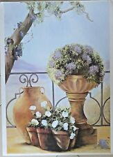 FROM A SILICIAN GARDEN BY JANET TAVA  38 3/4 X 27 IN  Free shipping