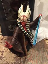 Gentle Giant Gg Shaak Ti Jedi Mini Bust Star Wars Statue