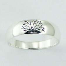 USA Seller Tree of Life Band Ring Sterling Silver 925 Best Deal Jewelry Size 7