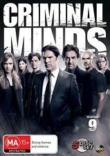 Criminal Minds : Season 9 (DVD, 2014, 5-Disc Set) R/4