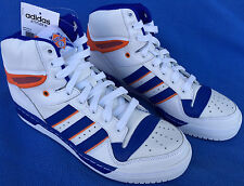 new Adidas Attitude HI NY Knicks D73897 Retro Ewing Basketball Shoes Men's 9 NBA