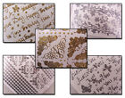 One Sheet Peel Off Stickers for cardmaking & other crafts - Assorted Designs