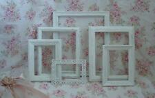 6 Lot Picture Frames Chic Shabby Lacy White Cottage Wedding ..