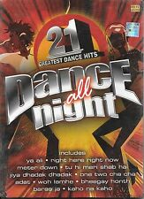 21 GREATEST DANCE HITS (DANCE ALL NIGHT) . NEW BOLLYWOOD CD FREE UK POST