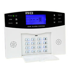 Wireless LCD GSM SMS Smart Home Security Burglar House Home Alarm System