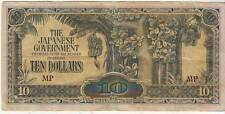 """THE JAPANESE GOVERNMENT"" 10 DOLLARS BANK NOTE."