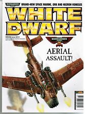 White Dwarf DW390 June  2012 ~ Warhammer Fantasy 40K Aerial Assault!
