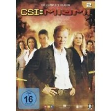 "CSI MIAMI ""SEASON 2"" 6 DVD SET TV SERIE NEU"