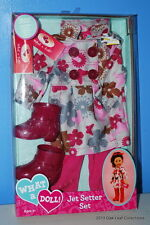 "What A Doll Outfit Clothing for 18"" Dolls Jet Setter Airlines Fashion NRFB"