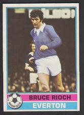 Topps - Footballers (Red Back) 1977 - # 80 Bruce Rioch - Everton