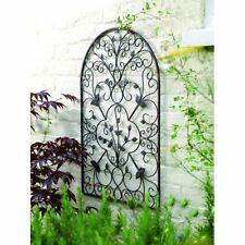 Spanish Antique Arch Metal Wall Art Kitchen Outdoor Garden Accent Patio Decor