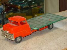 Vintage Structo Flat Bed, Pressed Steel Truck, Toy Vehicle