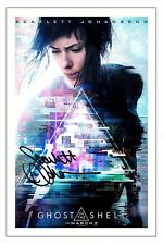 SCARLETT JOHANSSON SIGNED PHOTO PRINT AUTOGRAPH GHOST IN THE SHELL